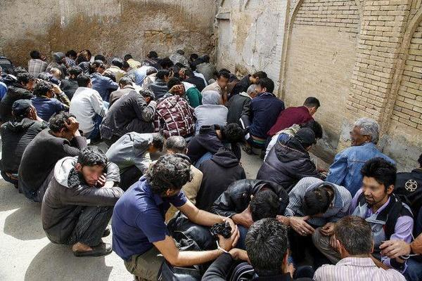 ۲ هزار و ۶۵۷ معتاد متجاهر در پایتخت جمعآوری شدند