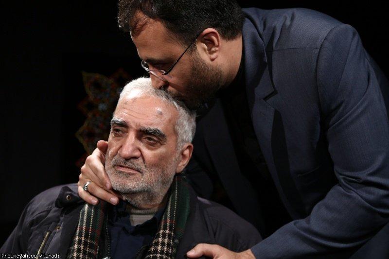 مداح مشهور اهل بیت (ع) درگذشت + عکس