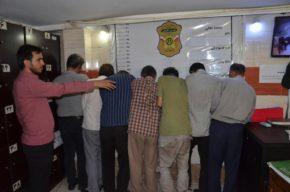 دستگیری باند بزرگ سارقان کارگاههای صنعتی در غرب تهران
