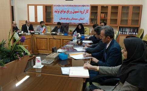 تلاش برای رفع مشکلات 3 طرح صنعتی در سیستان و بلوچستان