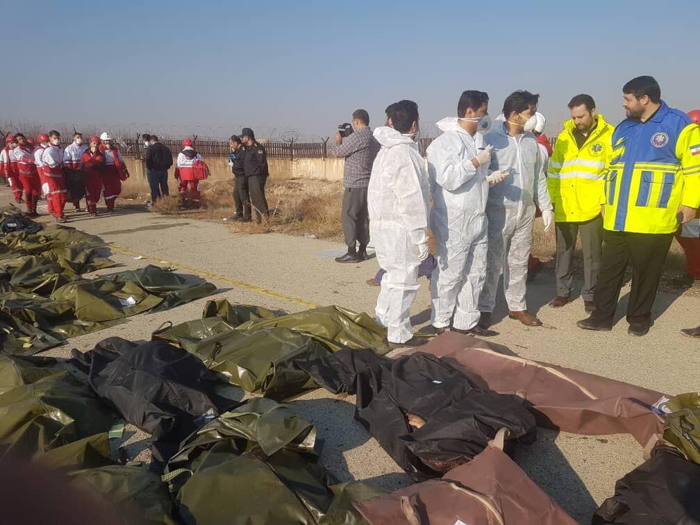 ۱۴۷ ایرانی در سقوط هواپیمای اوکراینی جان باختند