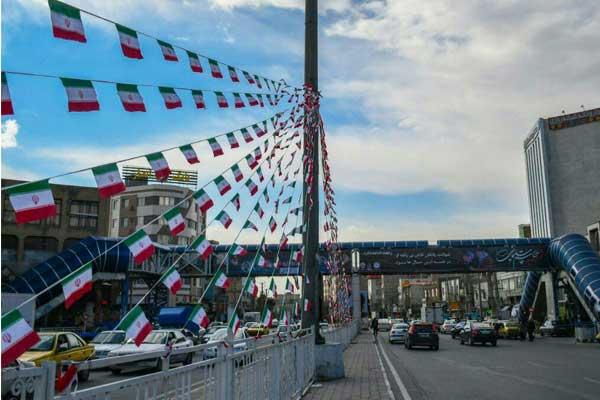 حال و هوای شهر قدس در چهل و یکمین سالگرد پیروزی انقلاب