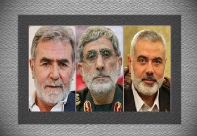 سردار قاآنی با رهبران گروههای مقاومت فلسطین گفتوگو کرد