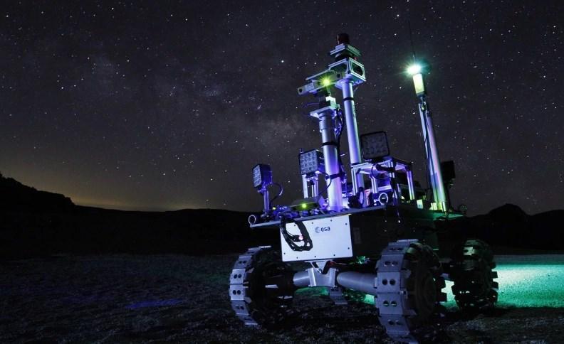ماهنورد لیزری برای اکتشاف در تاریکی ابدی طراحی شد
