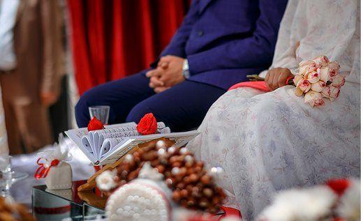داماد عصبانی وسط مراسم عروسی ساقدوشش را زد !+ فیلم
