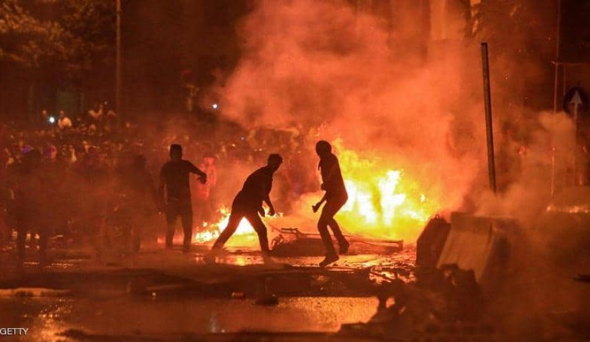 سقوط ارزش لیره آشوب خیابانی را به بیروت برگرداند