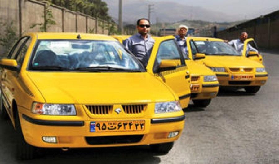 تردد رانندگان تاکسی فاقد کارت واکسیناسیون کرونا ممنوع!