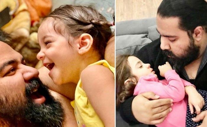 دختر رضا صادقی خواننده شد + فیلم