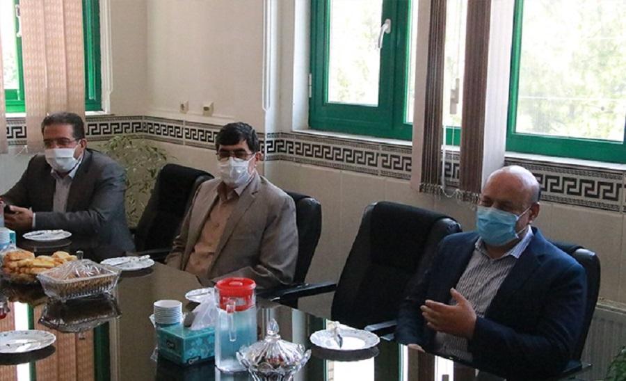فرماندار شهریار با مسئولان قضایی جنوب غرب استان تهران دیدار کرد