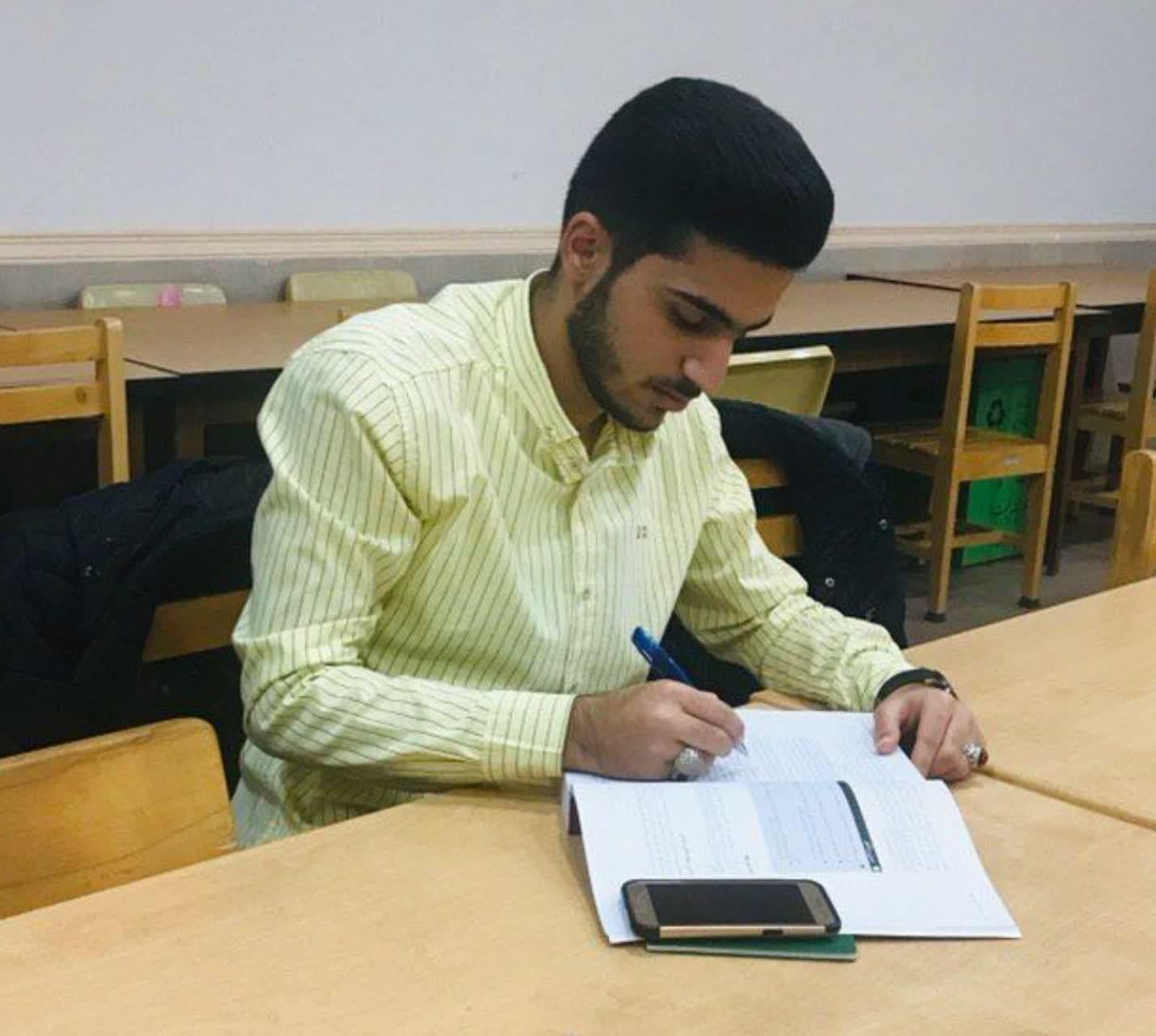 آزمون هدایت تحصیلی دانش آموزان پیشوا برگزار شد