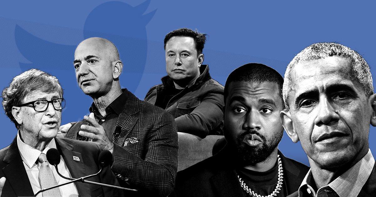سود بیتکوینی هکرها با صفحه توییتر اشخاص معروف