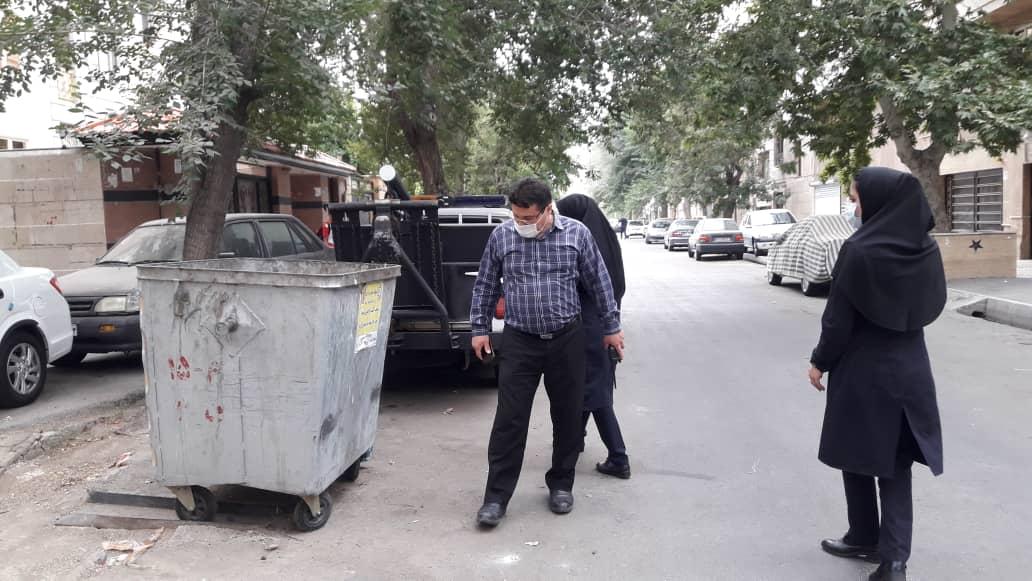 تفکیک از مبدا نمایش شهرداری تهران