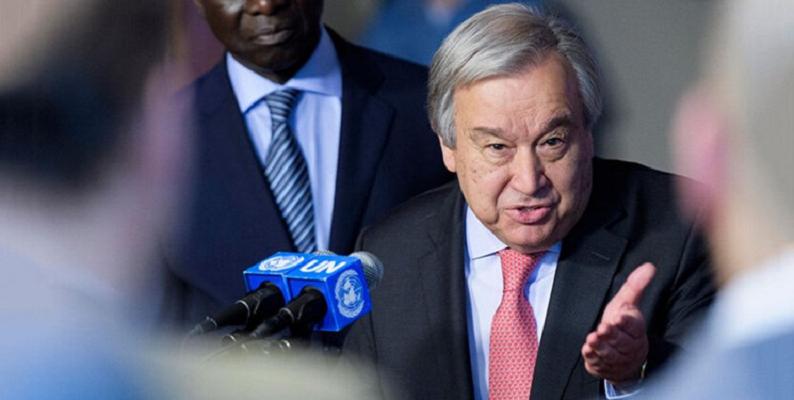 واکنش دبیر کل سازمان ملل به جنگ میان آذربایجان و ارمنستان