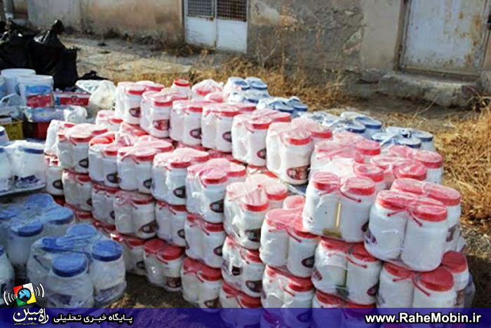 کشف 5 هزار کیلو لبنیات فاسد از سولهای در شهریار