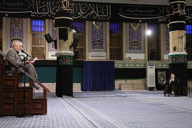برگزاری مراسم عزاداری شهادت امام سجاد(ع) در حسینیه امام خمینی(ره)