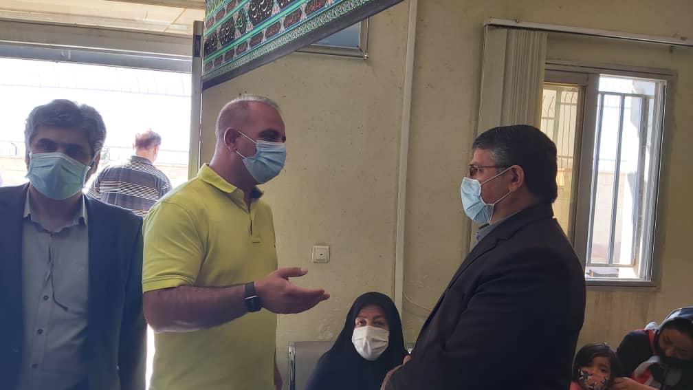 رئیس سازمان پزشکی قانونی از مرکز فیروزکوه بازدید کرد