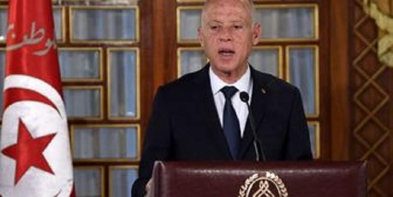 اعتراض رئیس جمهور تونس به اقدامات ماکرون