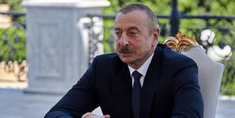 تاکید علیاف بر تداوم عملیات نیروهای آذربایجان در منطقه قره باغ