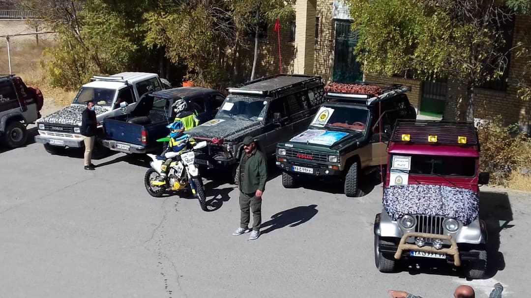 برگزاری رژه خودرویی و موتوری در فیروزکوه
