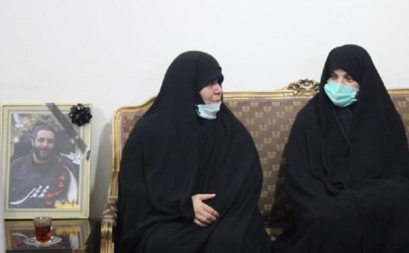 دیدار جمعی از نمایندگان مجلس با خانواده شهید امر به معروف