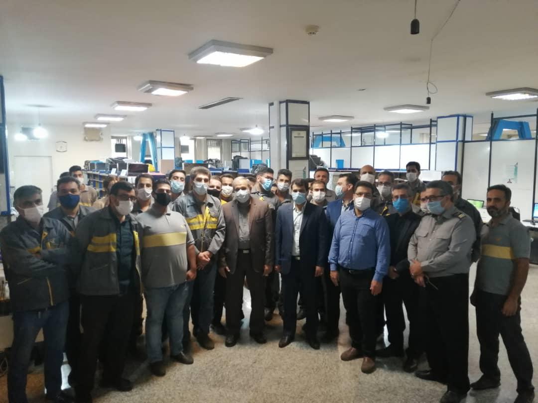 سیدعلی یزدیخواه از اداره پست جنوب تهران بازدید کرد