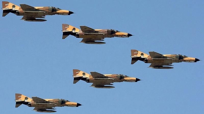 انهدام اهداف دشمن توسط F5 و صاعقه ارتش