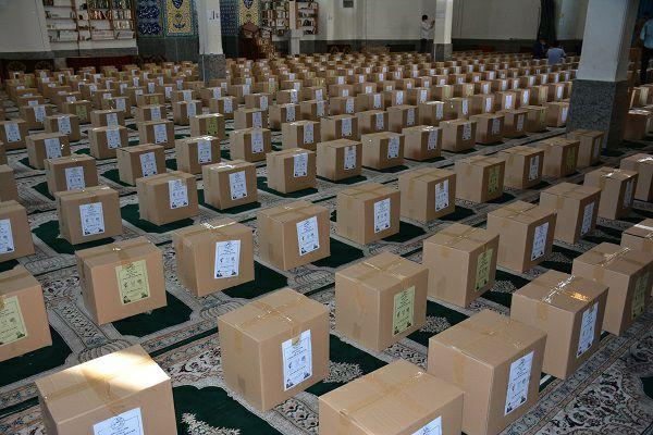 توزیع ۶۳۰۰ بسته معیشتی در پویش مردمی حضور غرب تهران