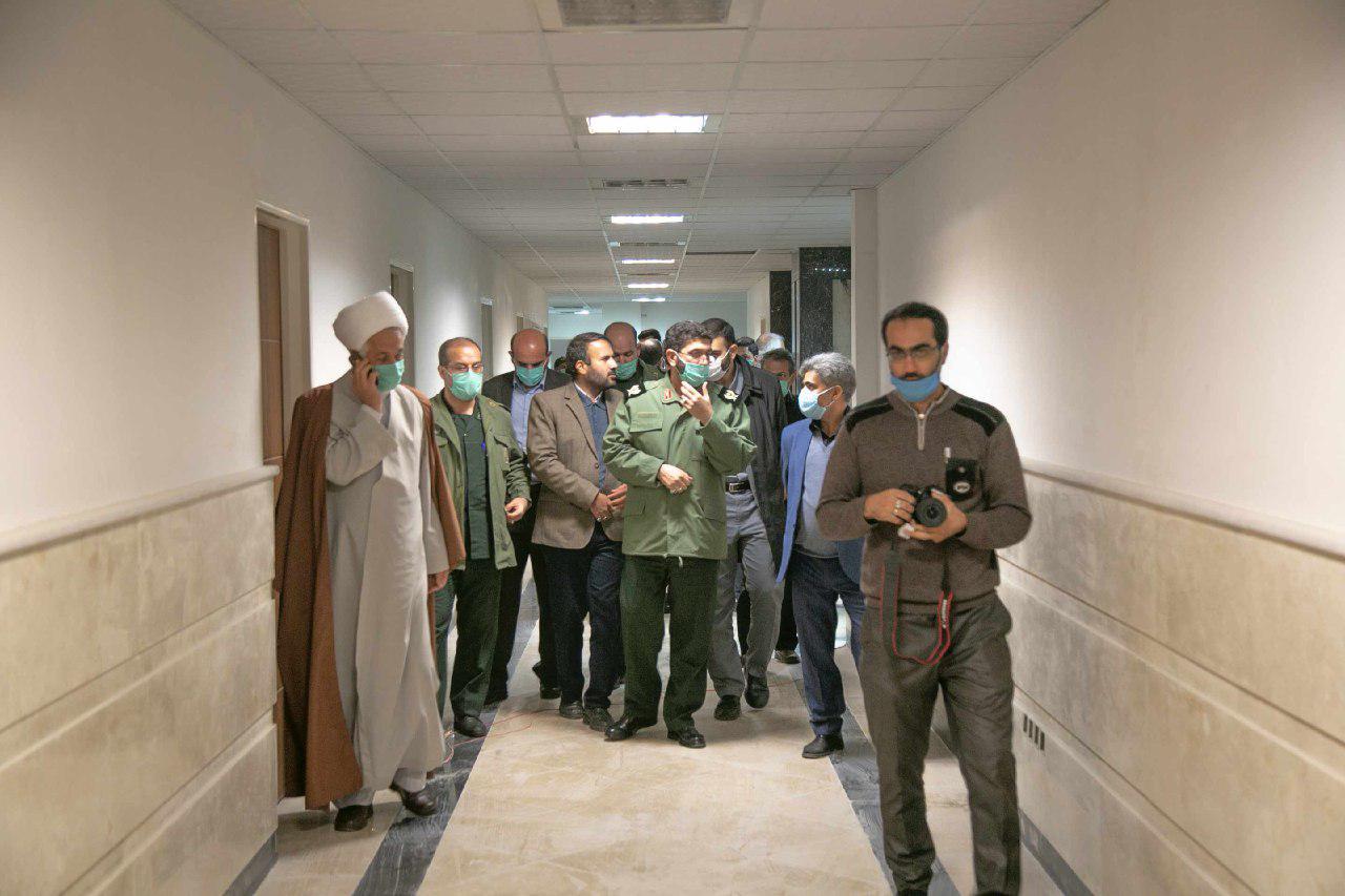 افتتاح ساختمان بسیج اقشار متبرک به نام شهید زمانینیا