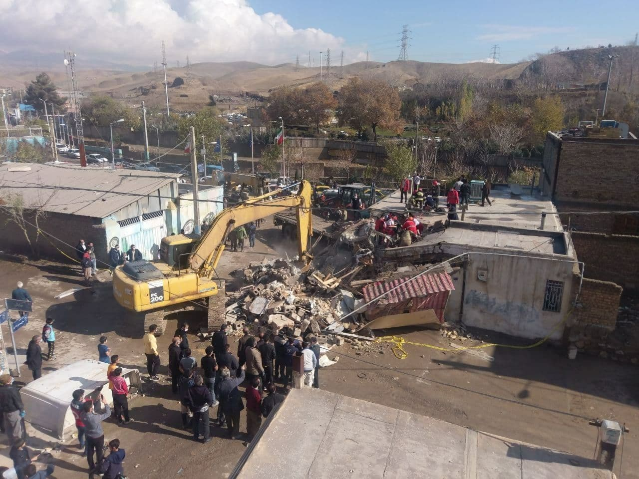 سه کشته در حادثه ورود تریلی به خانه مسکونی در پردیس