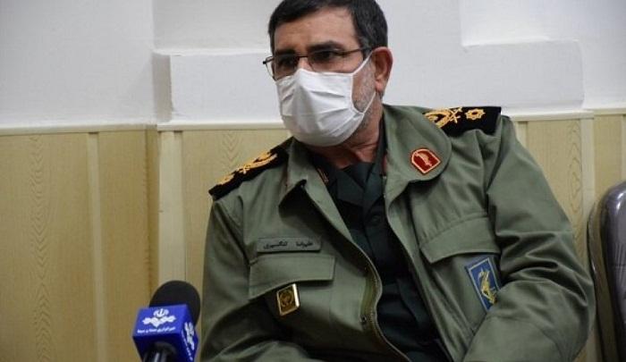 سردار تنگسیری : سینه به سینه نیروهای آمریکایی در خلیج فارس ایستاده ایم