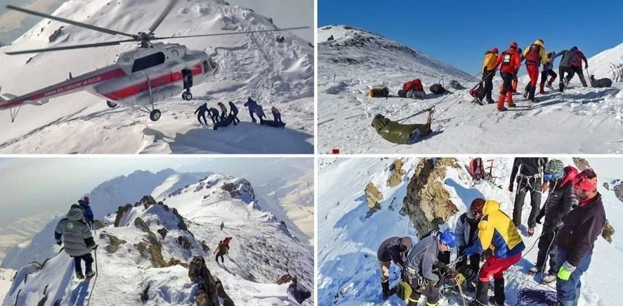 عملیات جستوجو در کوههای تهران به پایان رسید