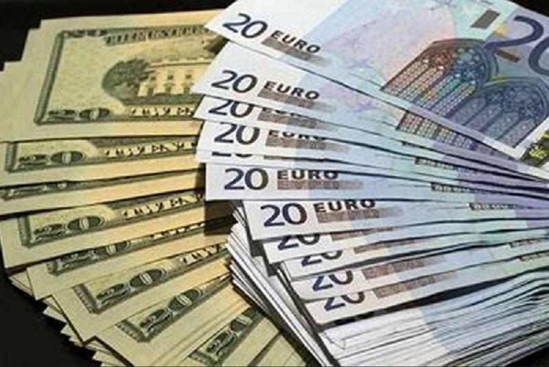 افزایش قیمت دلار و یورو امروز 19 آذر