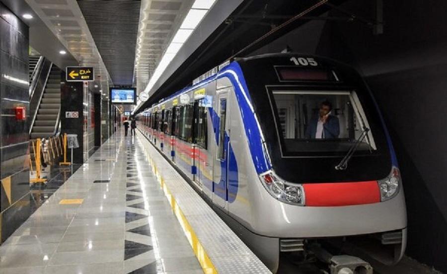 افزایش 10 درصدی مسافران مترو تهران از ابتدای بهمن