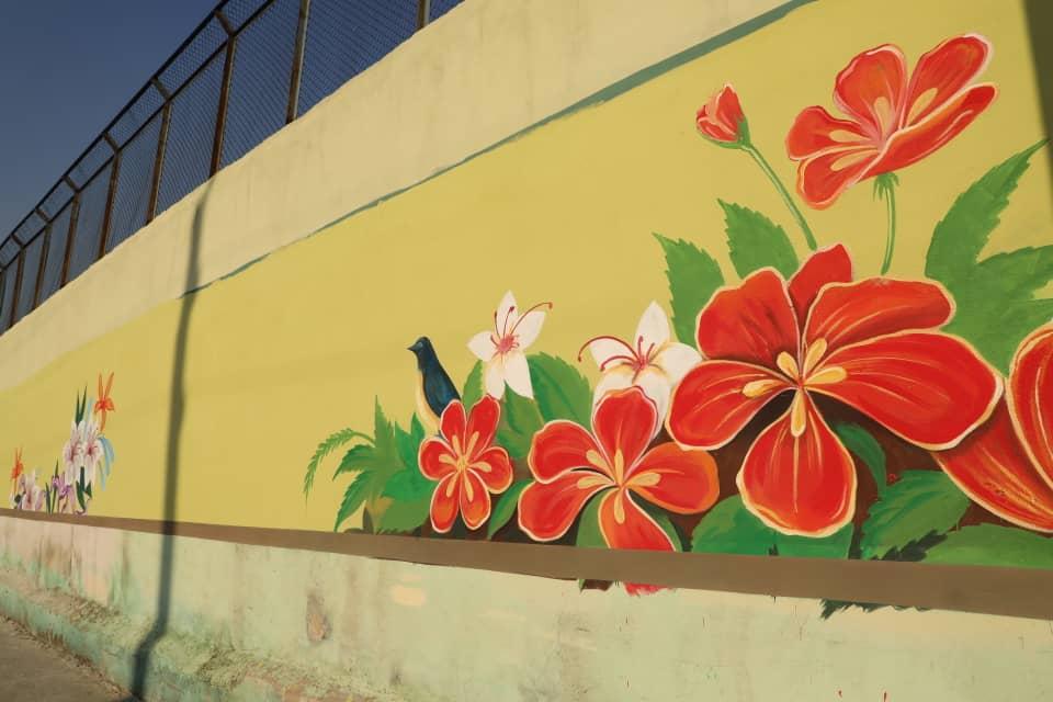 طرح نقاشی دیواری خیابان شهید قیانوری
