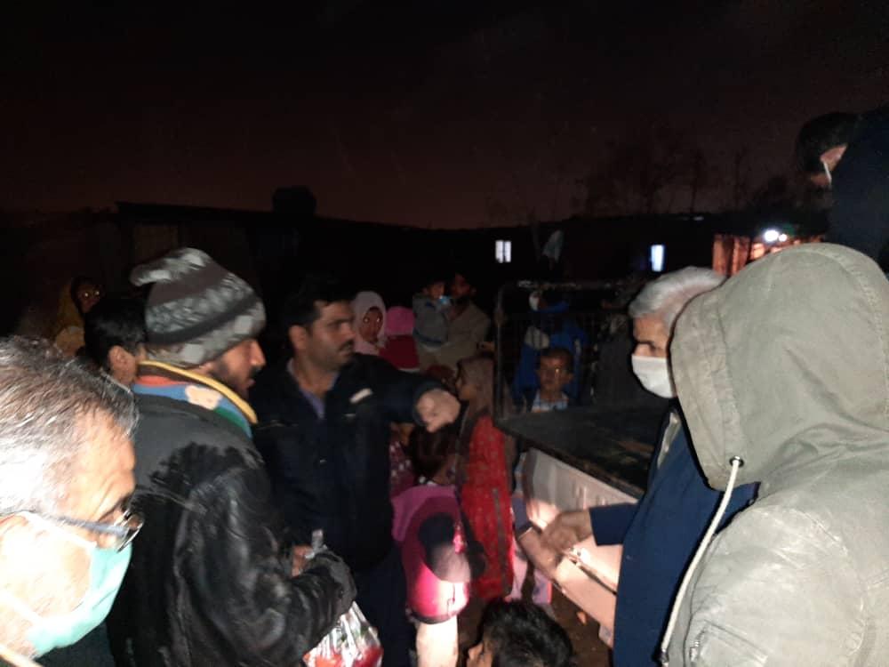 همدلی قرارگاه جهادی سردار شهید حاج ابوالقاسمی با خانوادههای بیبضاعت