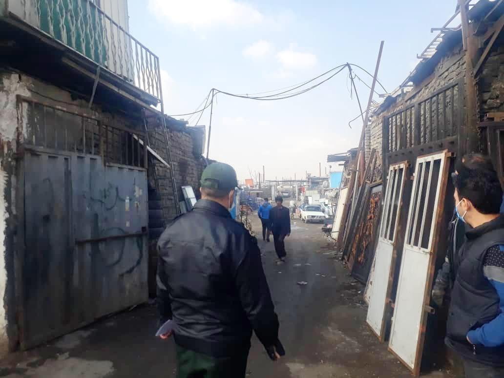 اخطار به عاملان تفکیک غیر مجاز پسماند در خلازیل