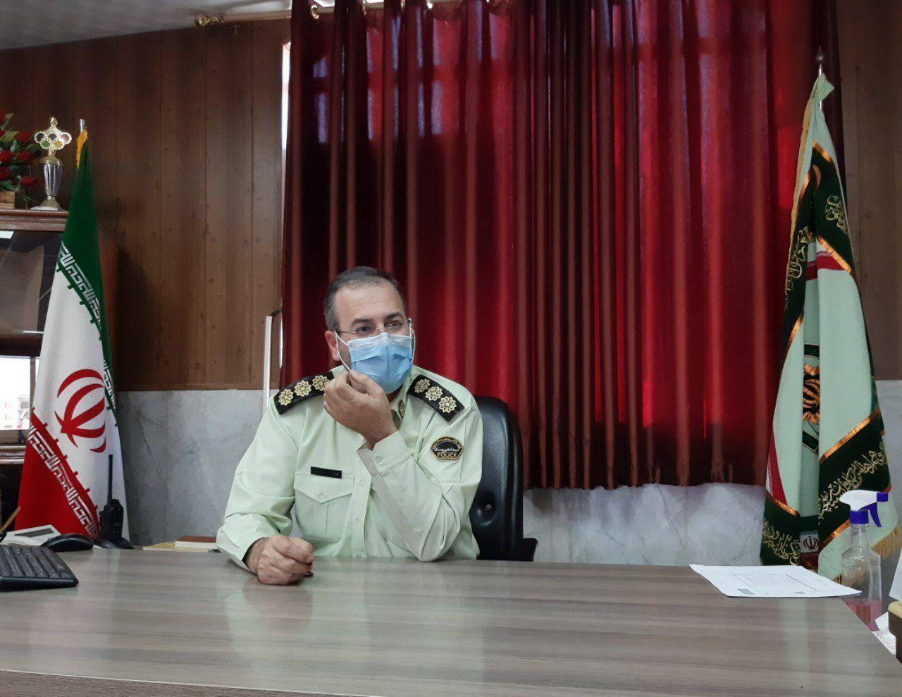 دستگیری ۱۲ سارق و کشف ۷۲ فقره انواع سرقت در بهارستان