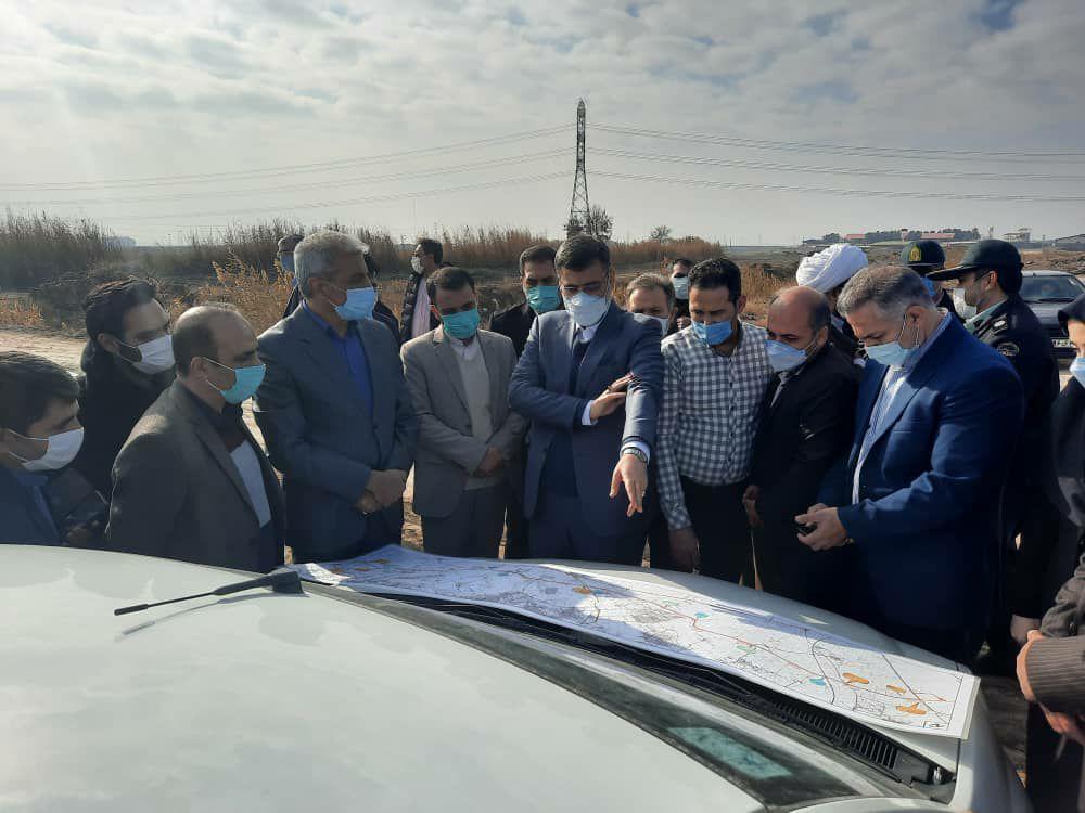 بازدید نایب رئیس مجلس از بیمارستان اسلامشهر / روبان بیمارستان نیمه کاره چه زمانی قیچی میشود؟