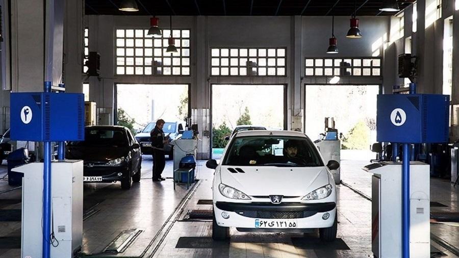 مراجعه روزانه 6500 راننده جهت انجام معاینه فنی خودرو