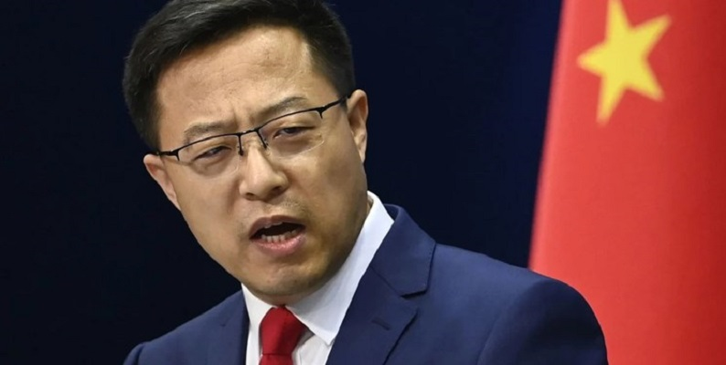 آمریکا فورا به مداخله در امور داخلی چین پایان دهد