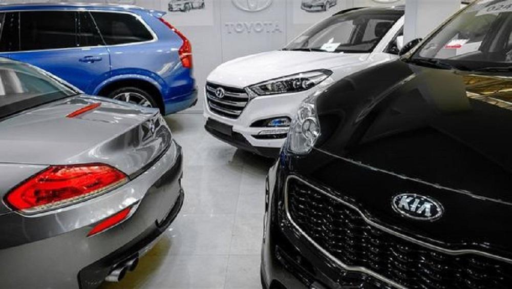 نرخ خودروهای خارجی امروز 13 اسفند